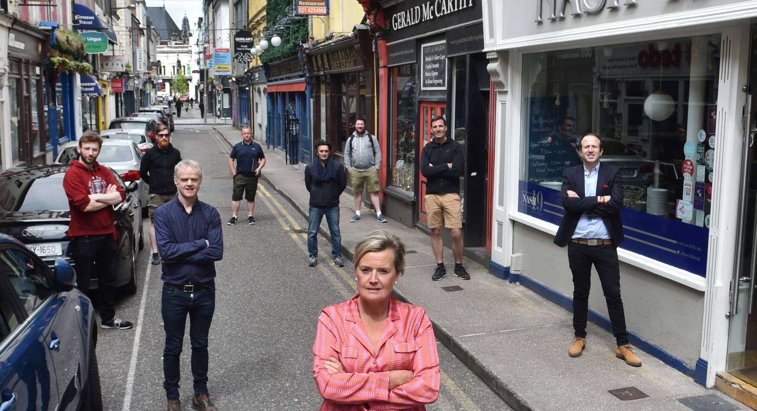 Eat on the street plans in Cork City