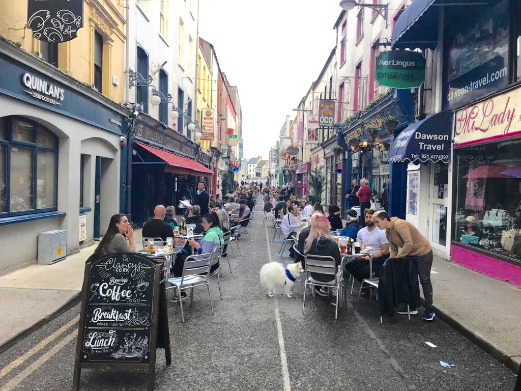 Princes' Street Cork – a new dining experience begins.