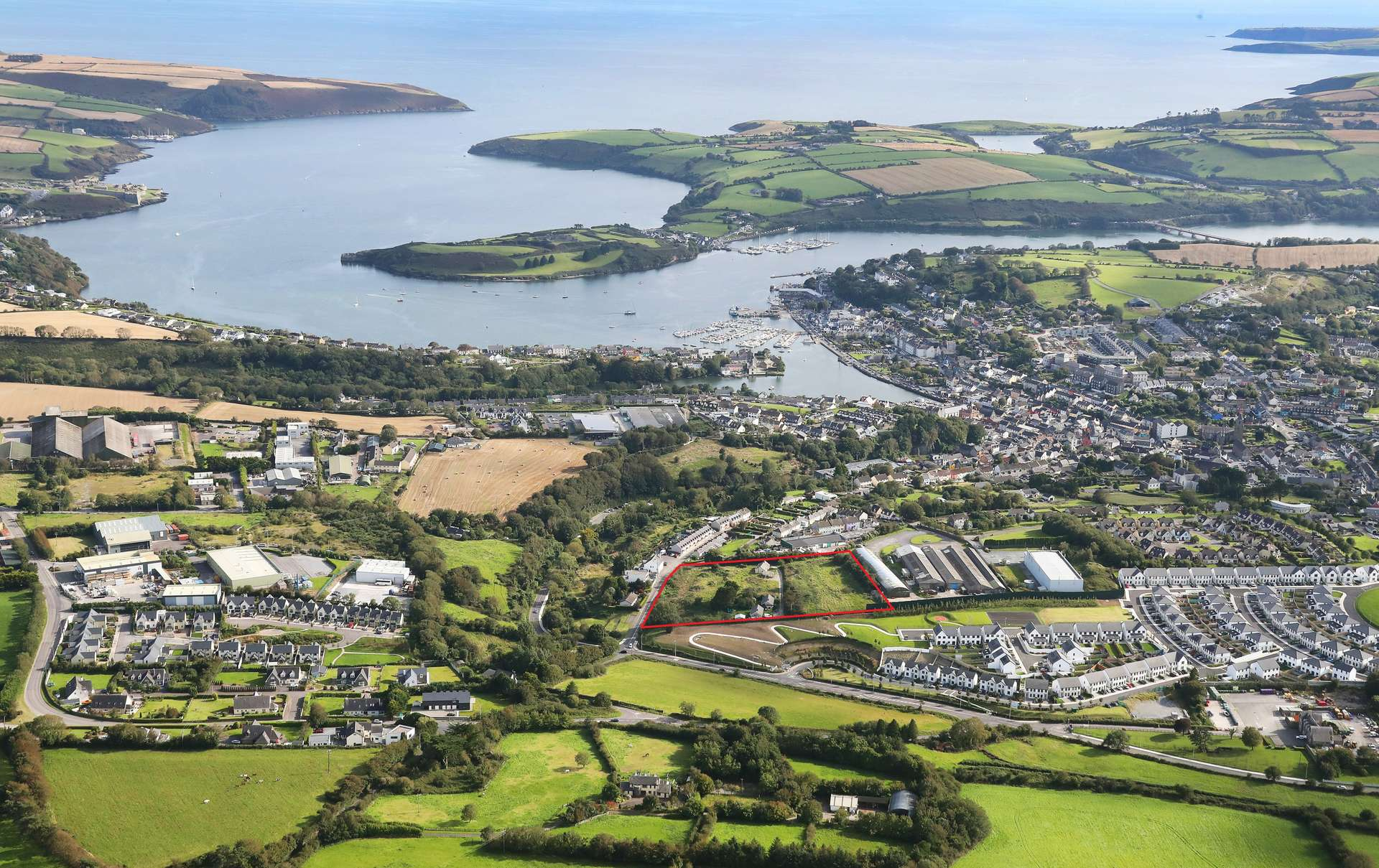 Full Planning Permission secured for high-end residential scheme in Kinsale.