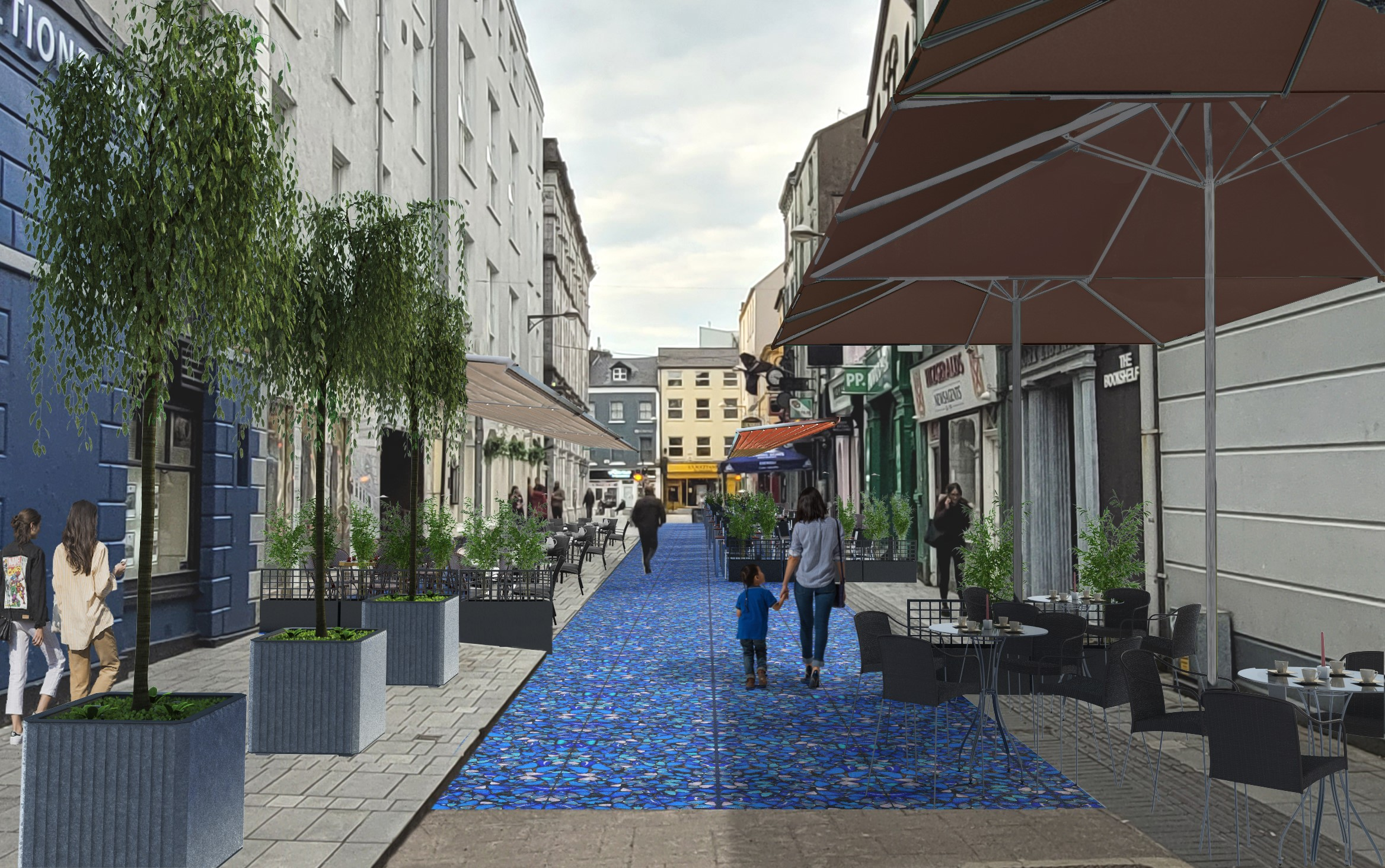 Cork to become winter outdoor dining destination Architecture Ireland, Urban Design, Dublin/Cork/Kerry Architecture